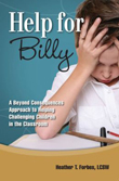 Help for Billy book cover