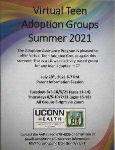 Virtual Teen Adoption Group