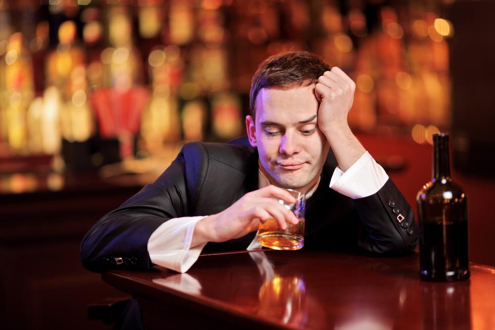 Man in bar (Shutterstock photo)