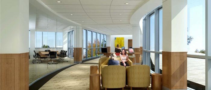 Rendering of the Patient and Family Education Center