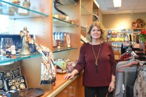 Debbie Baril, Connucopia Gift Shop manager.