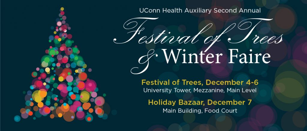 Festival of Trees & Winter Faire banner