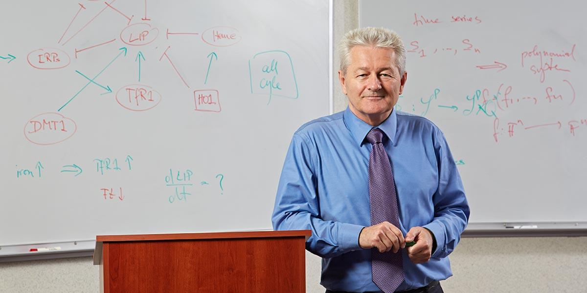Reinhard C. Laubenbacher, Ph.D. (Lanny Nagler for UConn Health)