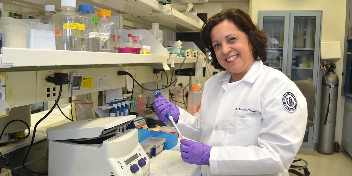 Annabelle Rodriguez-Oquendo, M.D., Linda and David Roth Chair for Cardiovascular Research