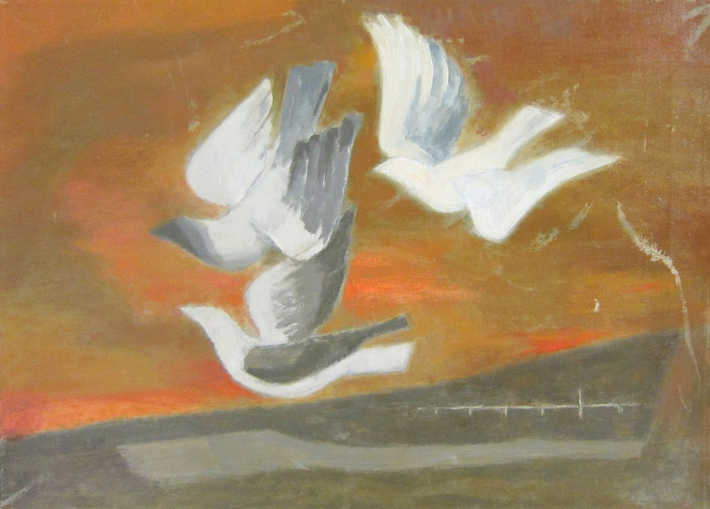 """Birds in Flight"" by Alan Tompkins"