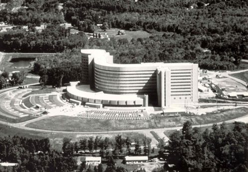 Aerial View of UConn Health