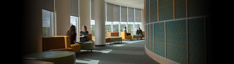 Academic rotunda hallway