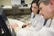 Doctors planning treatment