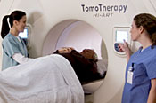 Patient positioning in the TomoTherapy system