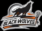 New England Black Wolves logo