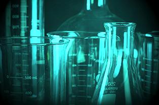 Lab Glassware Colored