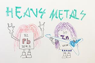 HeavyMetals Cartoon Art