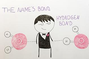 James Bond Science Cartoon