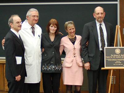 Leslie M. Loew, Peter Deckers, Susan Berlin, Joan Caron, and Frank Solomon