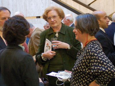 Joan Jannace and Laurinda Jaffe