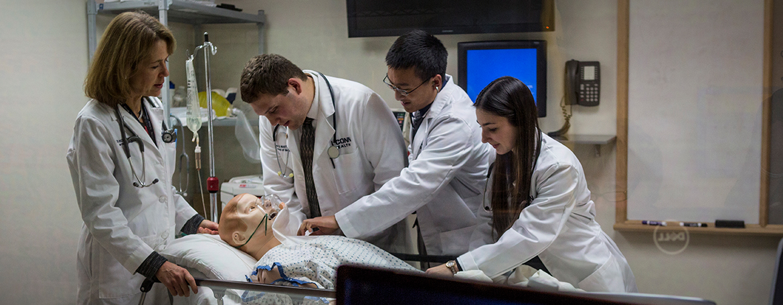 UConn School of Medicine simulation laboratory