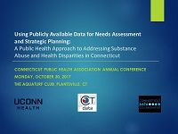Using Publicly Available Data for Needs Assessment