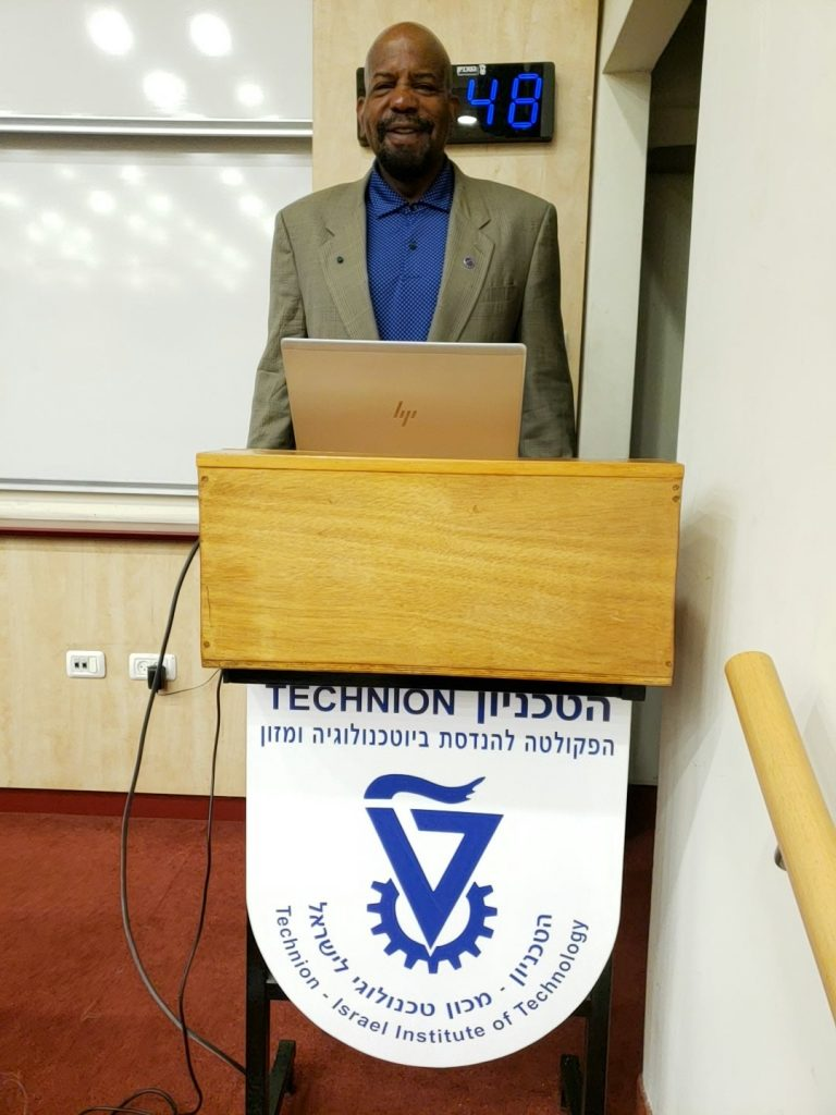 Dr. Laurencin at Technion