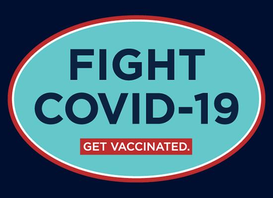 Fight COVID-19 badge
