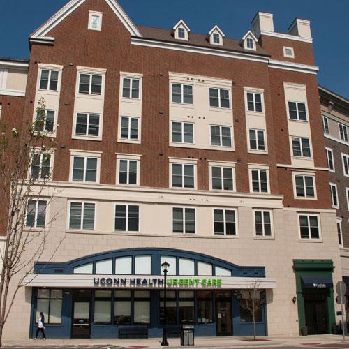 UConn Health Storrs medical building