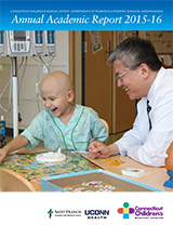 Pediatrics and Surgical Subspecialties Annual Report