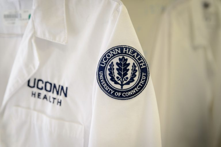 UConn Health lab coats
