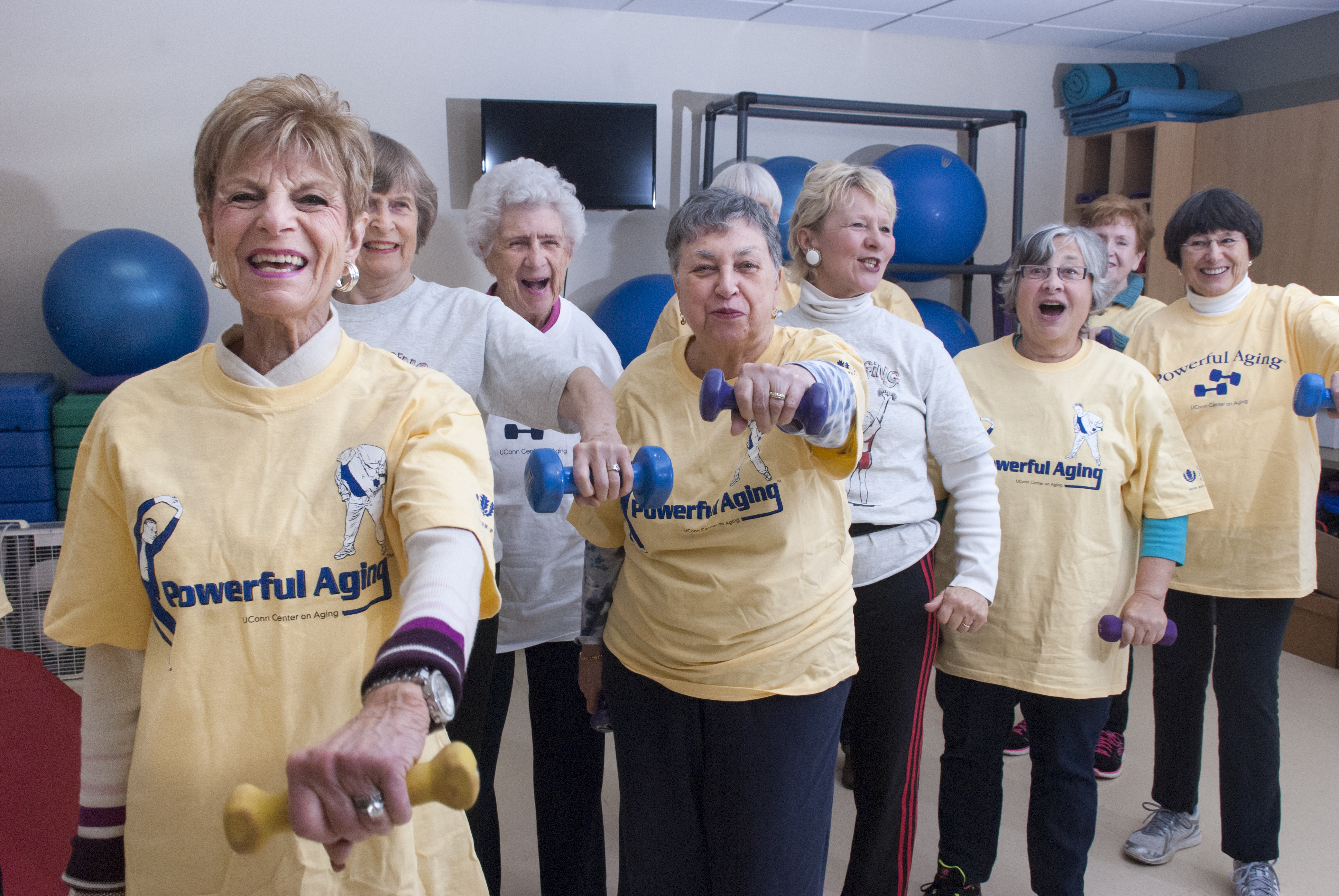 Powerful Aging Exercise Class