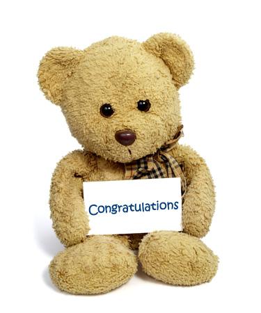 congratulations bear