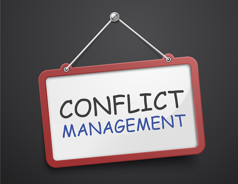 Conflict Management sign