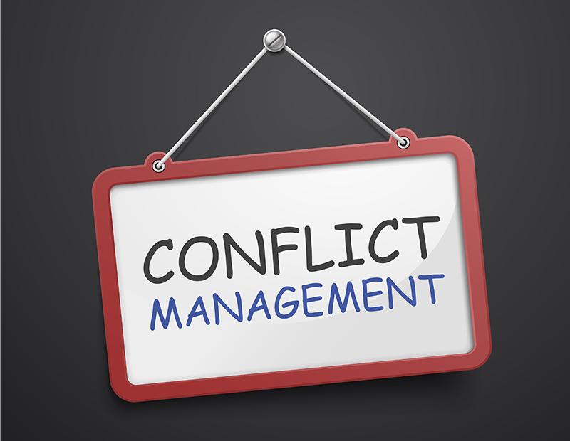 Conflict Management sign