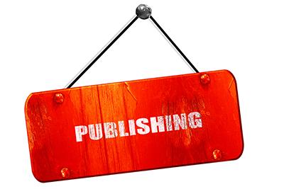 Publishing sign
