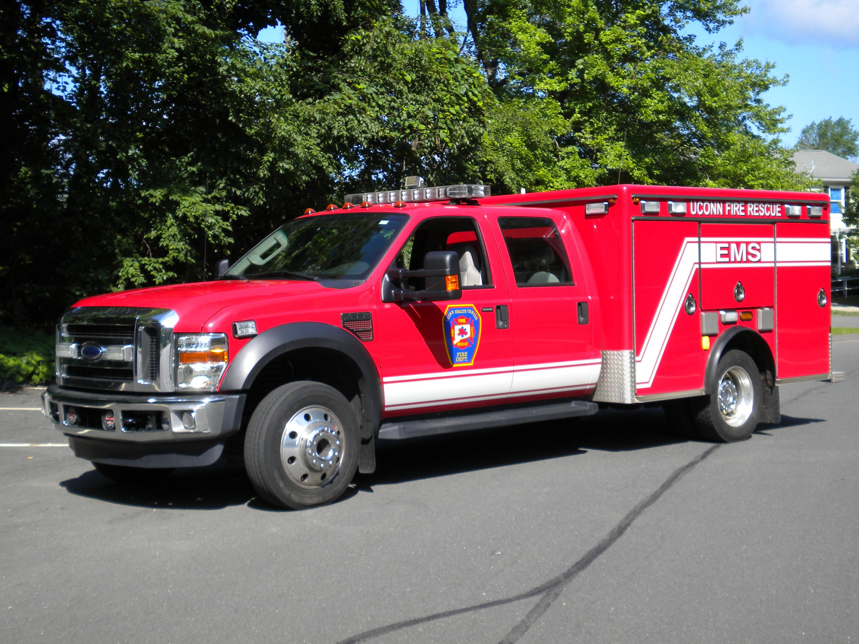 Rescue 2 – 2008 Ford F550 / EVI