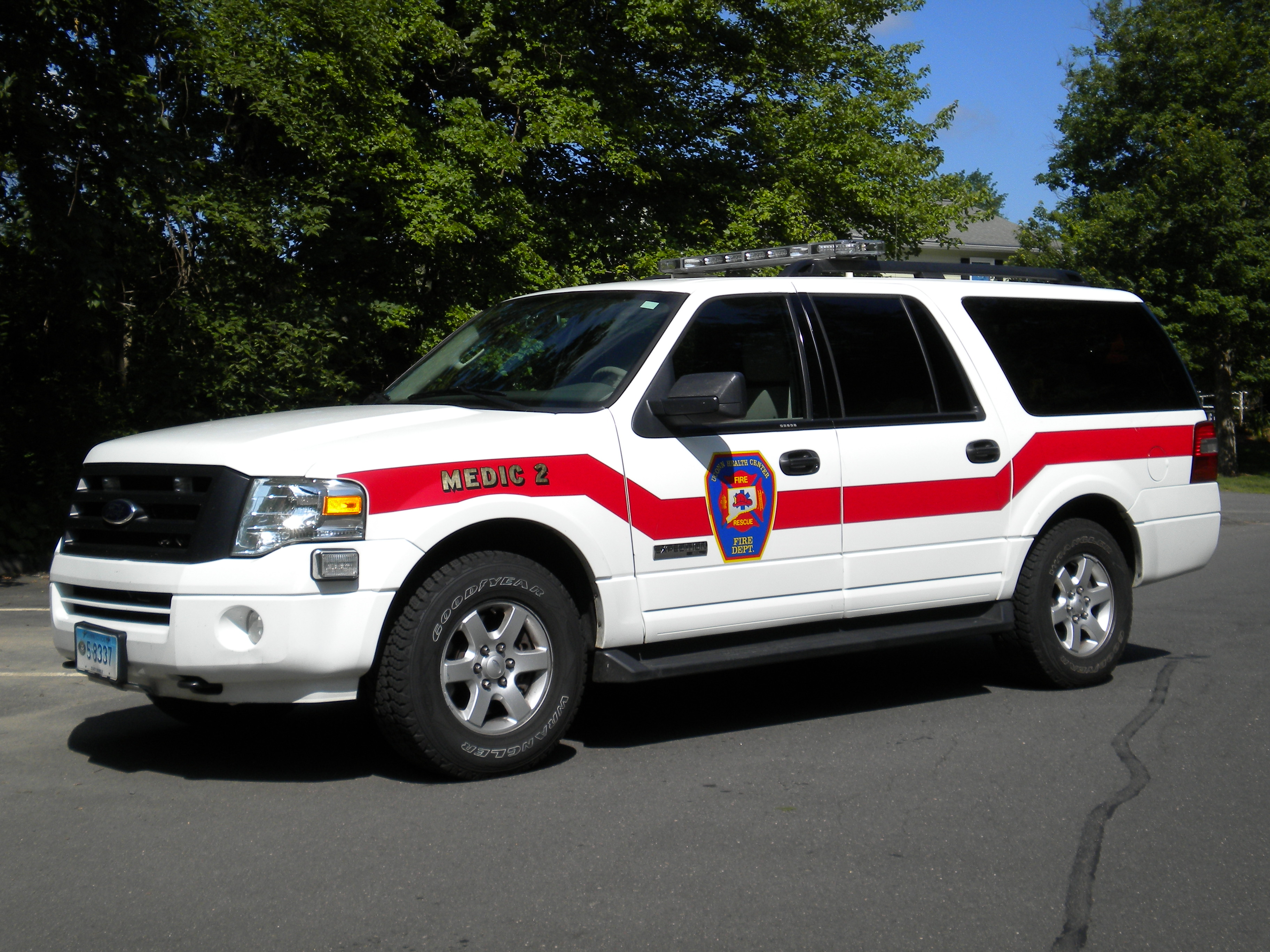Medic 2 – 2008 Ford Expedition