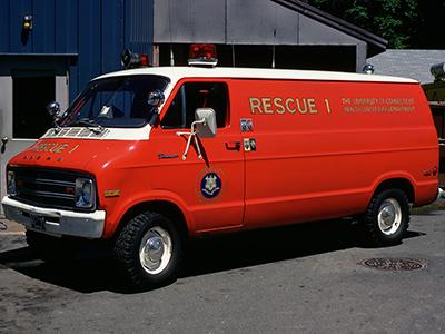 Rescue 1 – 1974 Dodge Tradesman 200