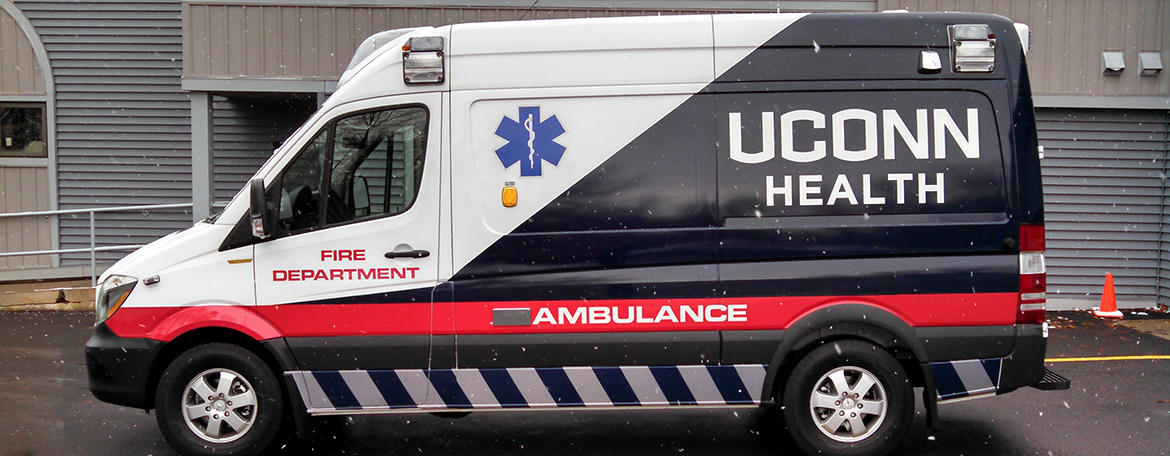 UConn Health Ambulance
