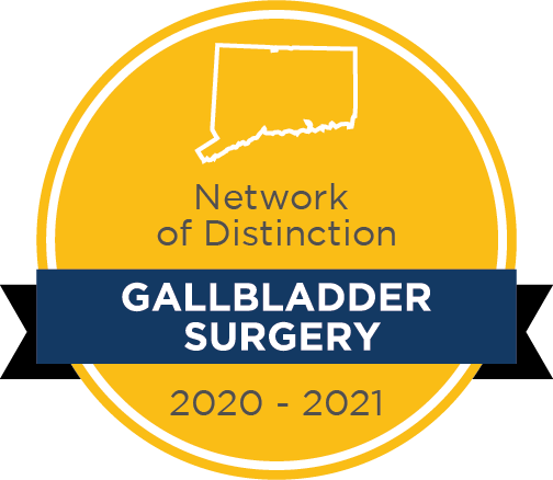 Network of Distinction Gallbladder Surgery badge