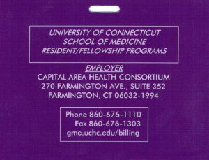 Purple Card front