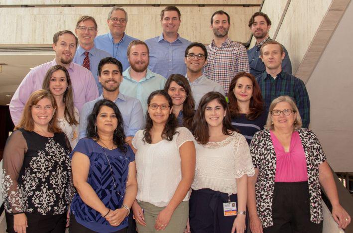 2018 Psychiatry Residency Program group photo