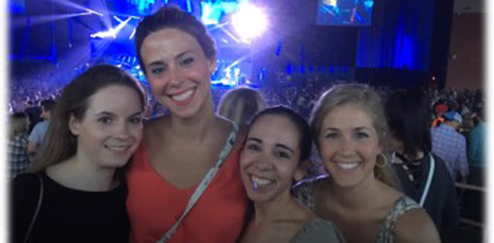 Hanging Outside of Work - Dave Matthews Band Concert