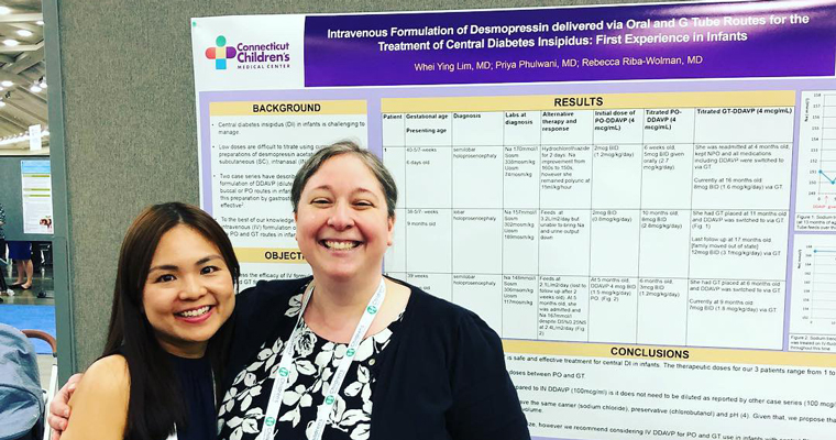 Poster session photod