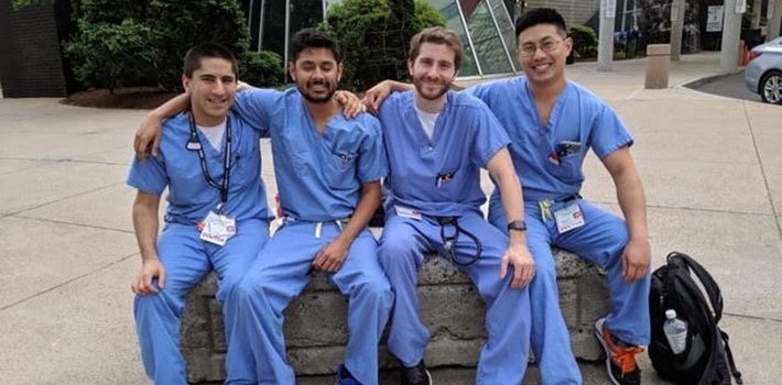 Residents at Hartford Hospital