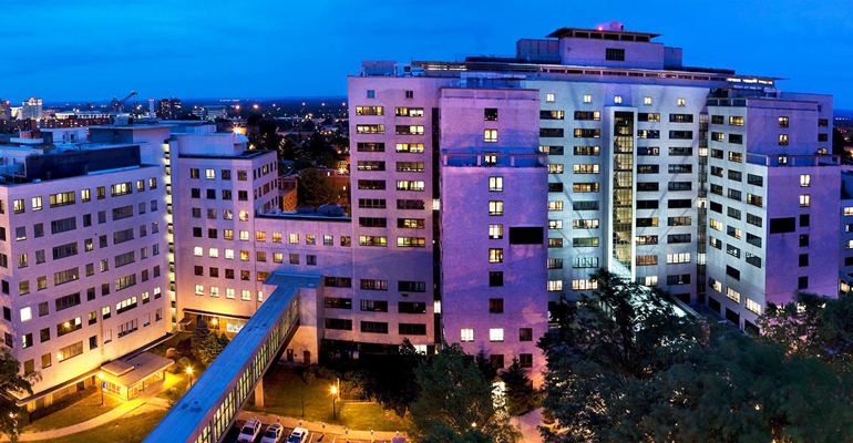 Hartford Hospital Aerial Photo