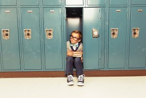 Kid in locker