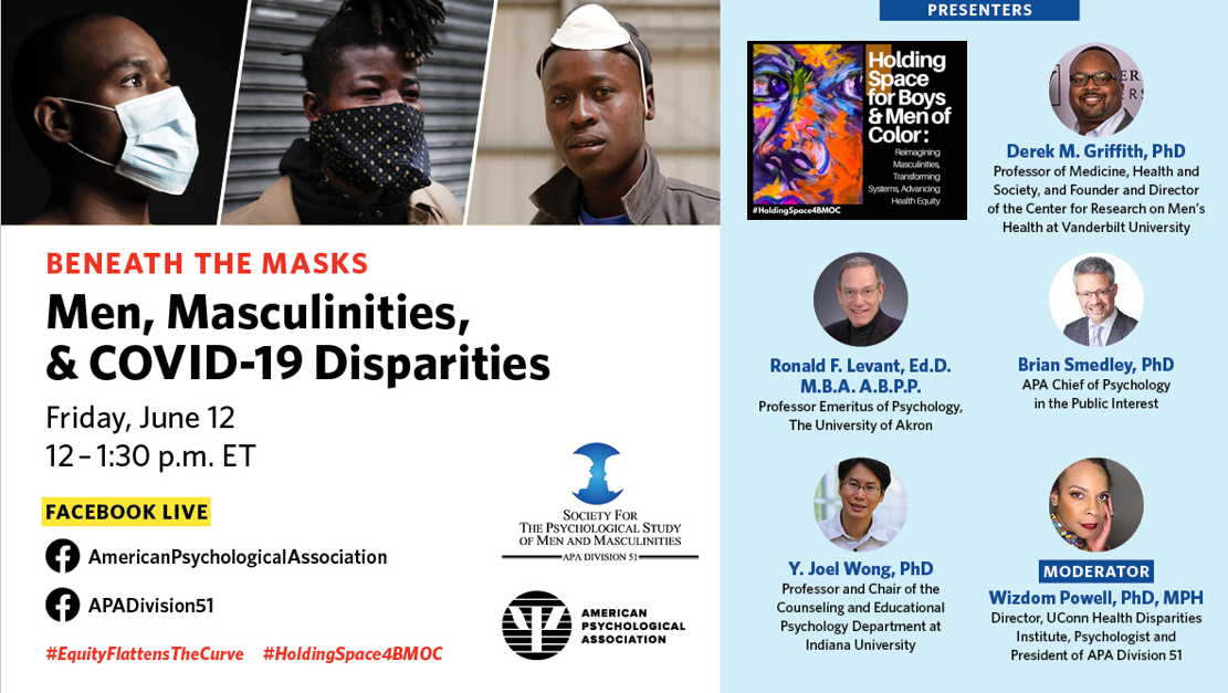 men, masculinities, and covid-19 disparities- holdingspace4bmoc