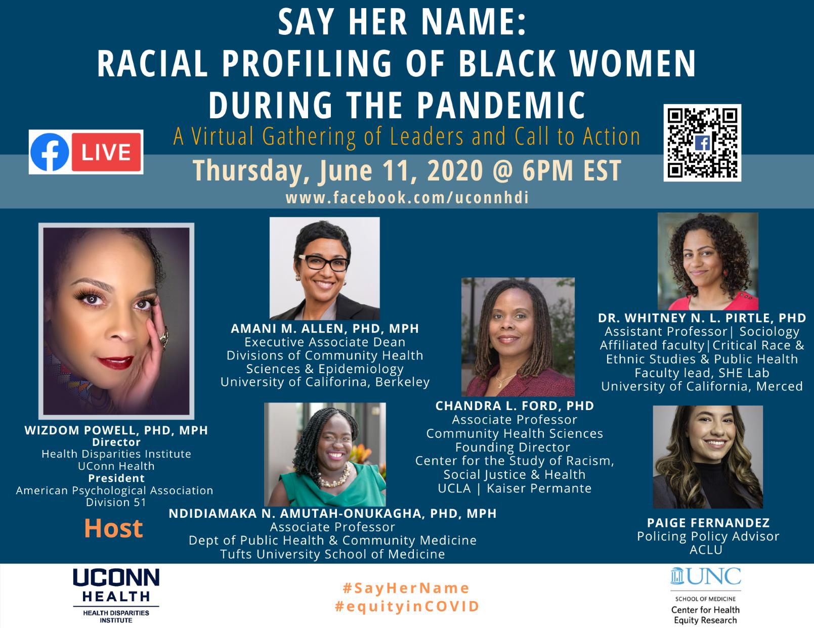 Say Her Name_ Racial Profiling of Black Women -Final resize