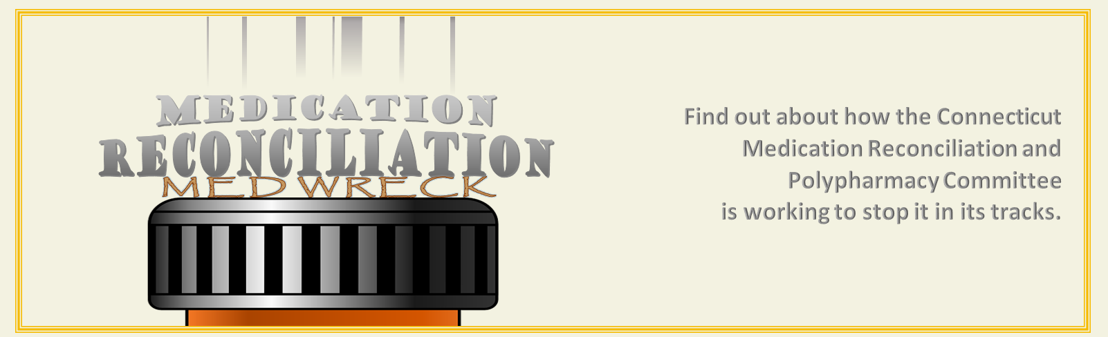 Medication Reconciliation and Polypharmacy Committee Info Banner