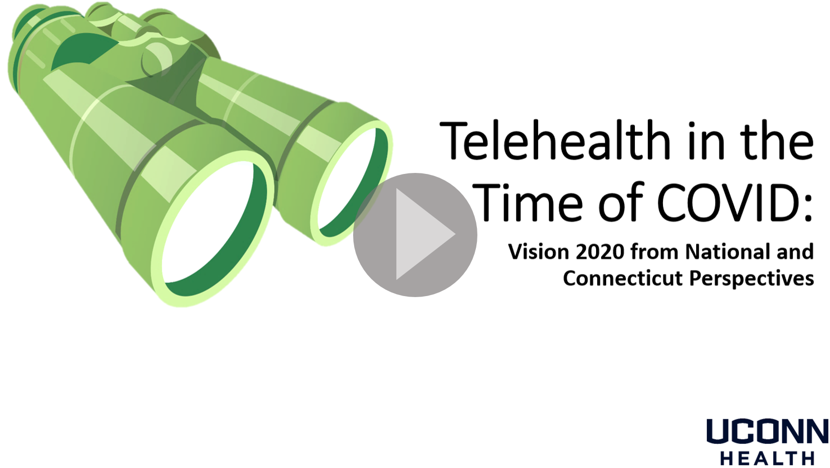 Telehealth in the Time of COVID Intro Slide