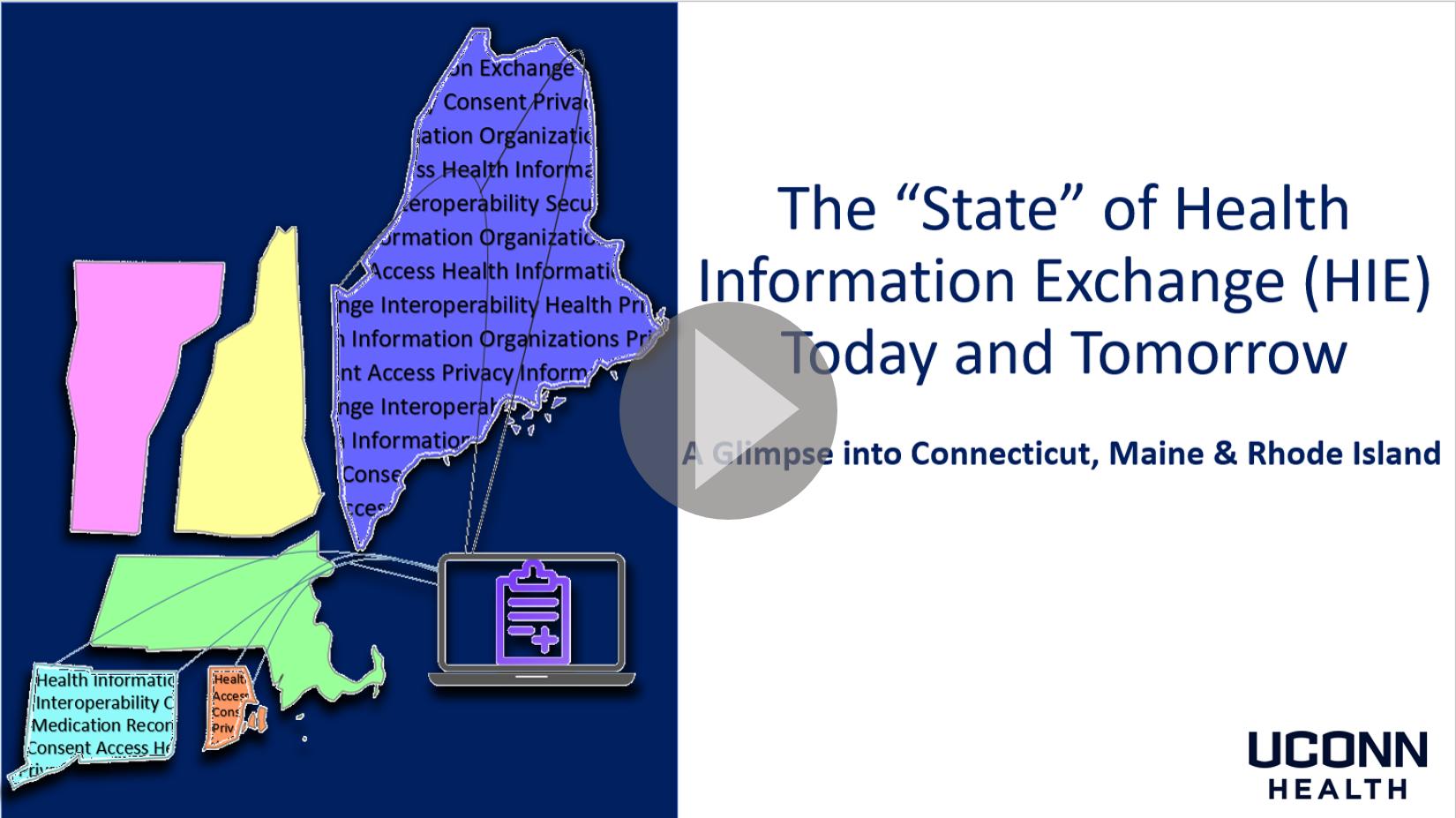 State of HIE Presentation Intro Slide