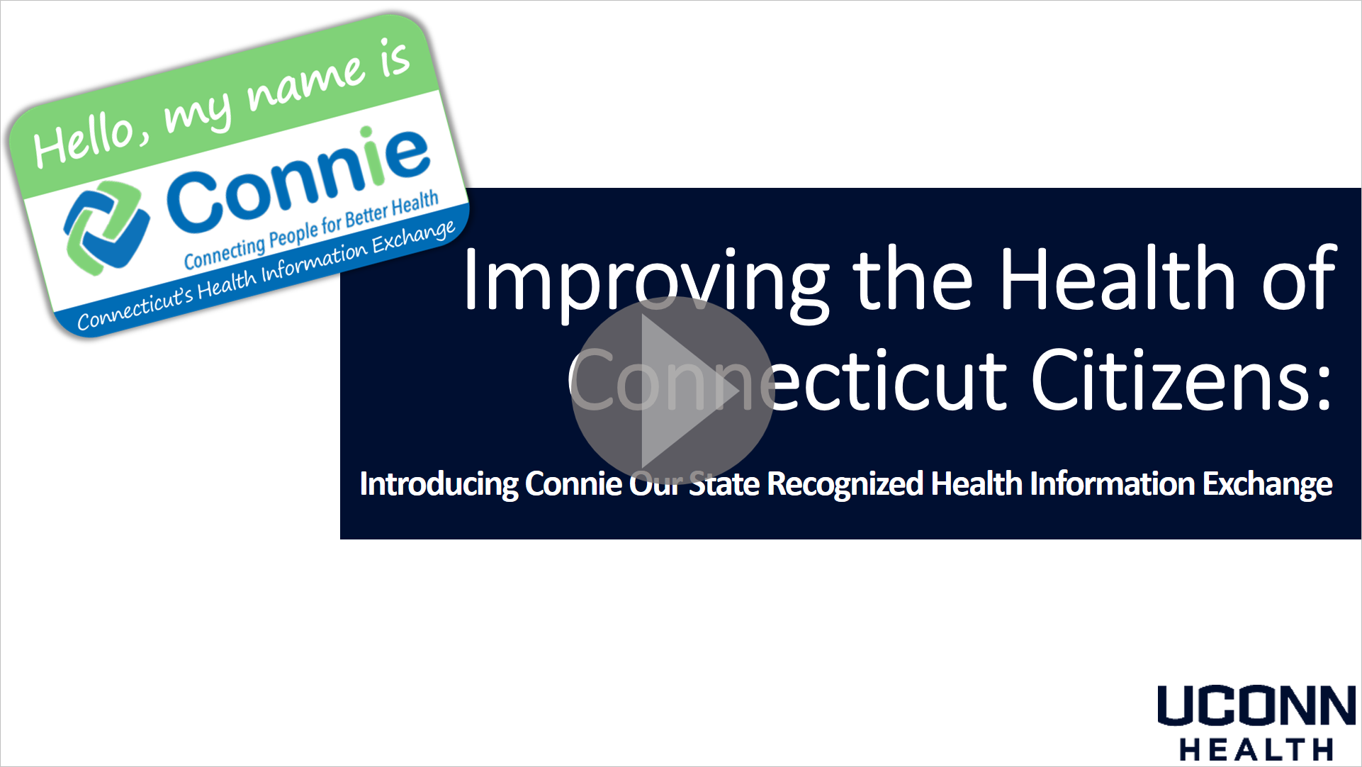 Introducing Connie Video Image Link