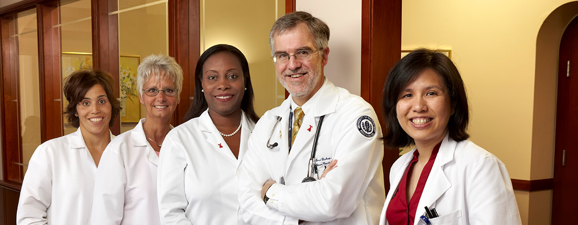 Women's cardiology team